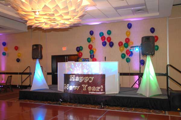 DJ Booth for Dancing New Year's Eve CT